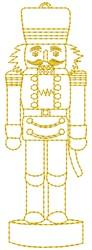 Nutcracker embroidery design
