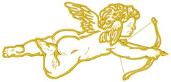 Cupid embroidery design