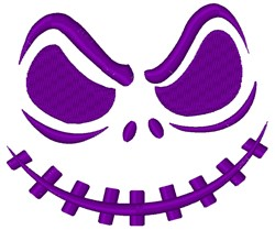 Scary Face embroidery design