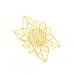 RW Sunflower embroidery design