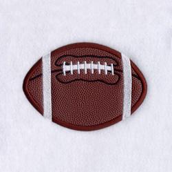 Football Applique (Satin) embroidery design