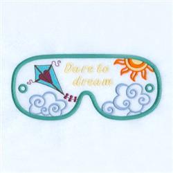 Dream Mask embroidery design
