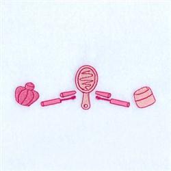 Beauty Sleep Line embroidery design