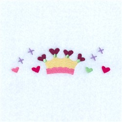 Princess Line embroidery design
