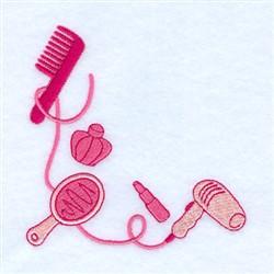 Beauty Sleep Corner embroidery design