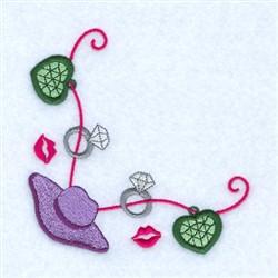 Dream Diva Corner embroidery design