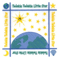 Star Quilt Embroidery Design : Twinkle Little Star Quilt Embroidery Design AnnTheGran