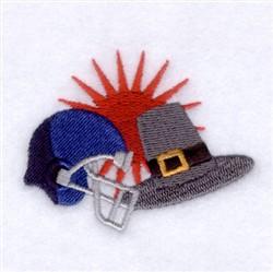 Headgear embroidery design