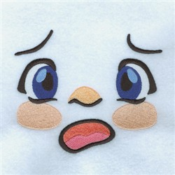 Shocked Boy embroidery design