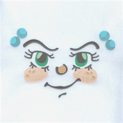 Sneaky Girl embroidery design