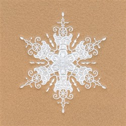 Wendy Snowflake embroidery design