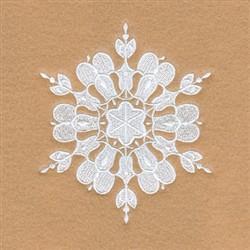 Gloria Snowflake embroidery design