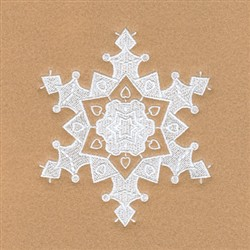 Esther Snowflake embroidery design