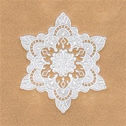 Victoria Snowflake embroidery design