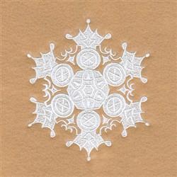 Glenda Snowflake embroidery design