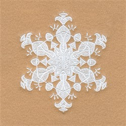 Charlotte Snowflake embroidery design