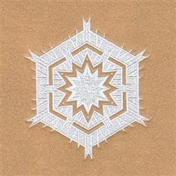 Doris Snowflake embroidery design