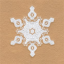 Shirley Snowflake embroidery design