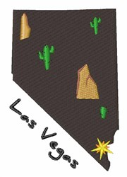 Las Vegas embroidery design