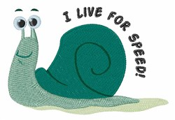 Live for Speed embroidery design