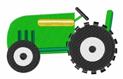 Farming Tractor embroidery design