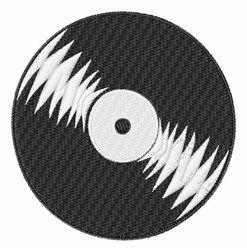 Record Album embroidery design