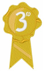 3rd Ribbon embroidery design