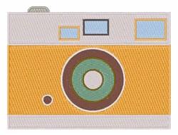 Photograph Camera embroidery design