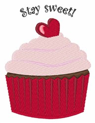 Stay Sweet embroidery design