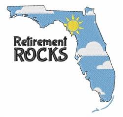 Retirement Rocks embroidery design