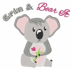 Bear It embroidery design