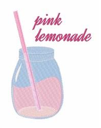 Pink Lemonade embroidery design
