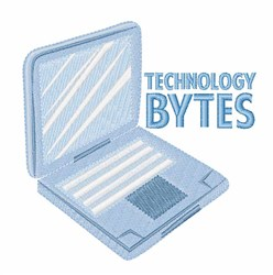 Technology Bytes embroidery design