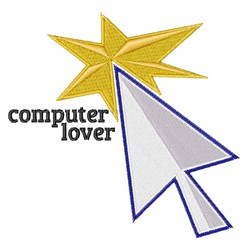 Computer Lover embroidery design