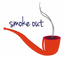 Smoke Out embroidery design