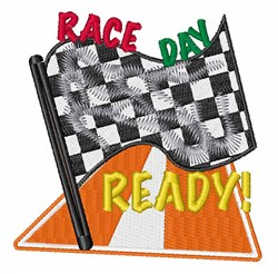 Race Day embroidery design
