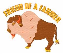 Friend Of Farmer embroidery design