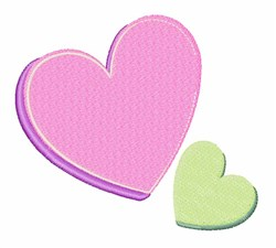 Valentine Hearts embroidery design