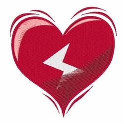 Valentine Heart embroidery design