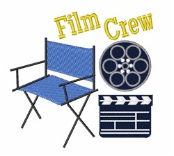 Film Crew embroidery design