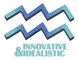 Innovative & Idealistic embroidery design