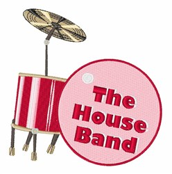 House Band embroidery design