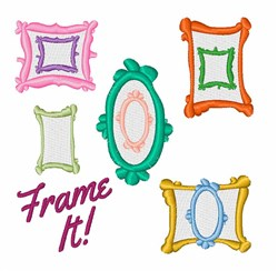 Frame It! embroidery design