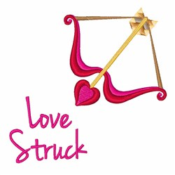 Love Struck embroidery design