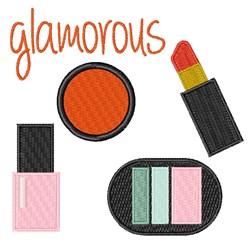 Glamorous embroidery design