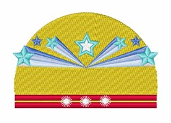 Star Banner embroidery design