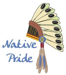 Native Pride embroidery design