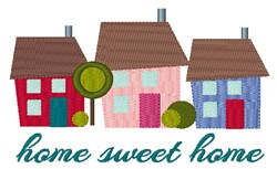 Home Sweet Home embroidery design