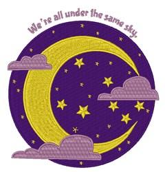 The Same Sky embroidery design