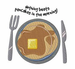 Pancakes In Morning embroidery design